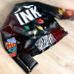 Custom leren jasje